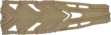 """Body Mapping"": американский надувной матрас Klymit Inertia XL Recon"