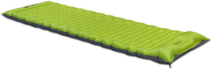 Надувной туристический коврик Nubo Air с наполнителем из шерсти (производство немецкой фирмы Wechsel)