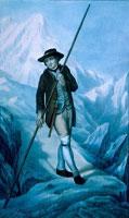 Альпеншток, картина конца XVIII века