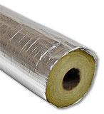 Каширование алюминиевой фольгой внешней стороны термоизоляции трубопроводов
