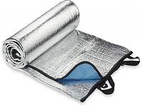 Коврик из покрытого алюминиевой фольгой тонкого слоя полиэтилена
