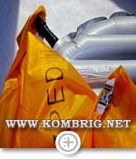 Накачивание американского надувного матраса Therm-a-Rest NeoAir XTherm мешком-насосом Exped Schnozzel Pumpbag