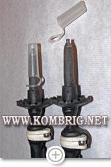 Стандартные пластмассовые колпачки, надеваемые на наконечники треккинговых палок
