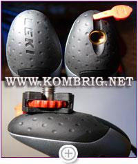 Фотоадаптер Aergon Photoadapter немецкой фирмы Leki для превращения треккинговой палки в штатив-монопод
