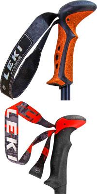 Различные типы темляков трекинговых палок, выпускаемых немецкой фирмой Leki