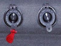 Плоские клапаны самонадувающихся ковриков, швейцарская фирма Exped