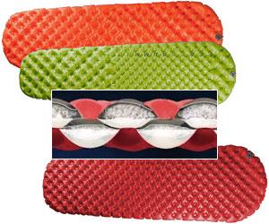 Надувные матрасы с микроволоконным наполнителем, выпускаемые австралийской фирмой Sea To Summit