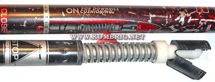 Пружинный амортизатор (антишок) треккинговой палки