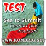 Описание и тест туристического коврика Comfort plus Insulated Rectangular, производимого австралийской фирмой Sea to Summit