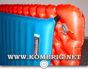 Сравнение ширины ковриков Sea to Summit Comfort plus Insulated и Therm-a-Rest Deluxe LE (2)