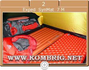 Туристические коврики Sea to Summit Comfort plus Insulated (Regular Rectangular) и Exped SynMat 7 M