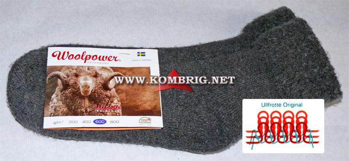 Шерстяные носки Socks Brushed 600 шведской фирмы Woolpower, использованное в тесте туристического коврика Exped SynMat Winterlite MW