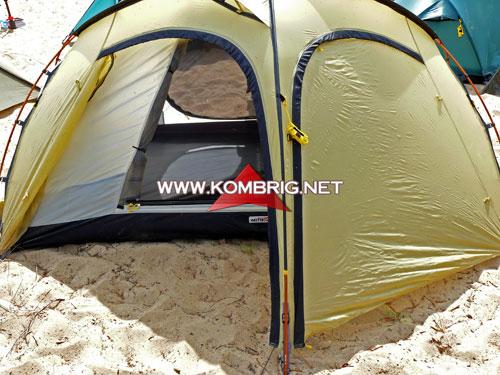 Комбриг: Выбор палатки.