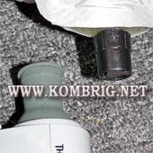 Сравнение размеров штуцера электронасоса Therm-a-Rest NeoAir Mini Pump и клапана коврика марки Therm-A-Rest