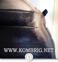 """Отслаивание алюминия от """"отражающих барьеров"""" коврика Therm-a-Rest NeoAir XTherm"""