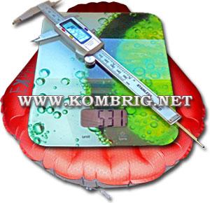 Технические характеристики туристического коврика Exped SynMat Winterlite MW