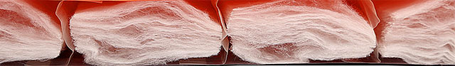 Расположение теплоизолирующего микроволокна Texpedloft внутри ковриков Exped SynMat